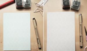 KROK I – Przygotowanie bazy kartki